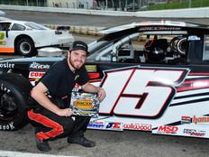Lonesome Pine Raceway Racer Rewards Winner Cameron Williams
