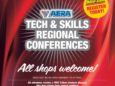 Make plans to attend AERA Tech & Skills conference March 30