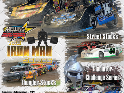 Volusia Speedway features Melling Racing Weekends Across America Aug. 18