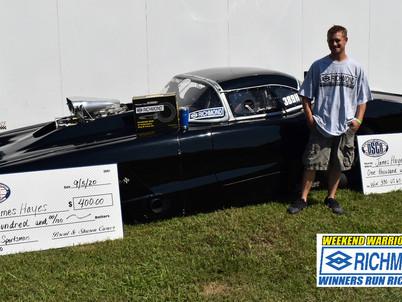 Outlaw Street Car Association Richmond Gear Weekend Warrior Winner