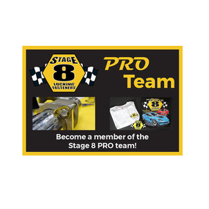 Join the Stage 8 Stage 8 Locking Fasteners Pro Team