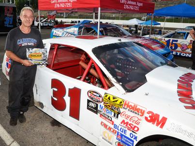 Lonesome Pine Raceway Racer Rewards Winner Bill Duty
