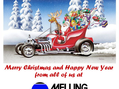Merry Christmas from Melling Engine Parts
