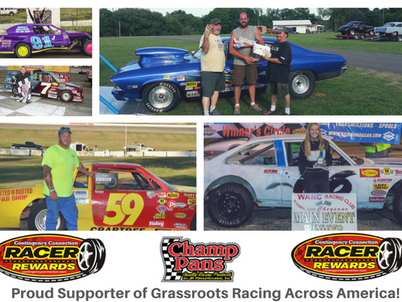 Champ Pans: Proud Supporter of Grassroots Racing!