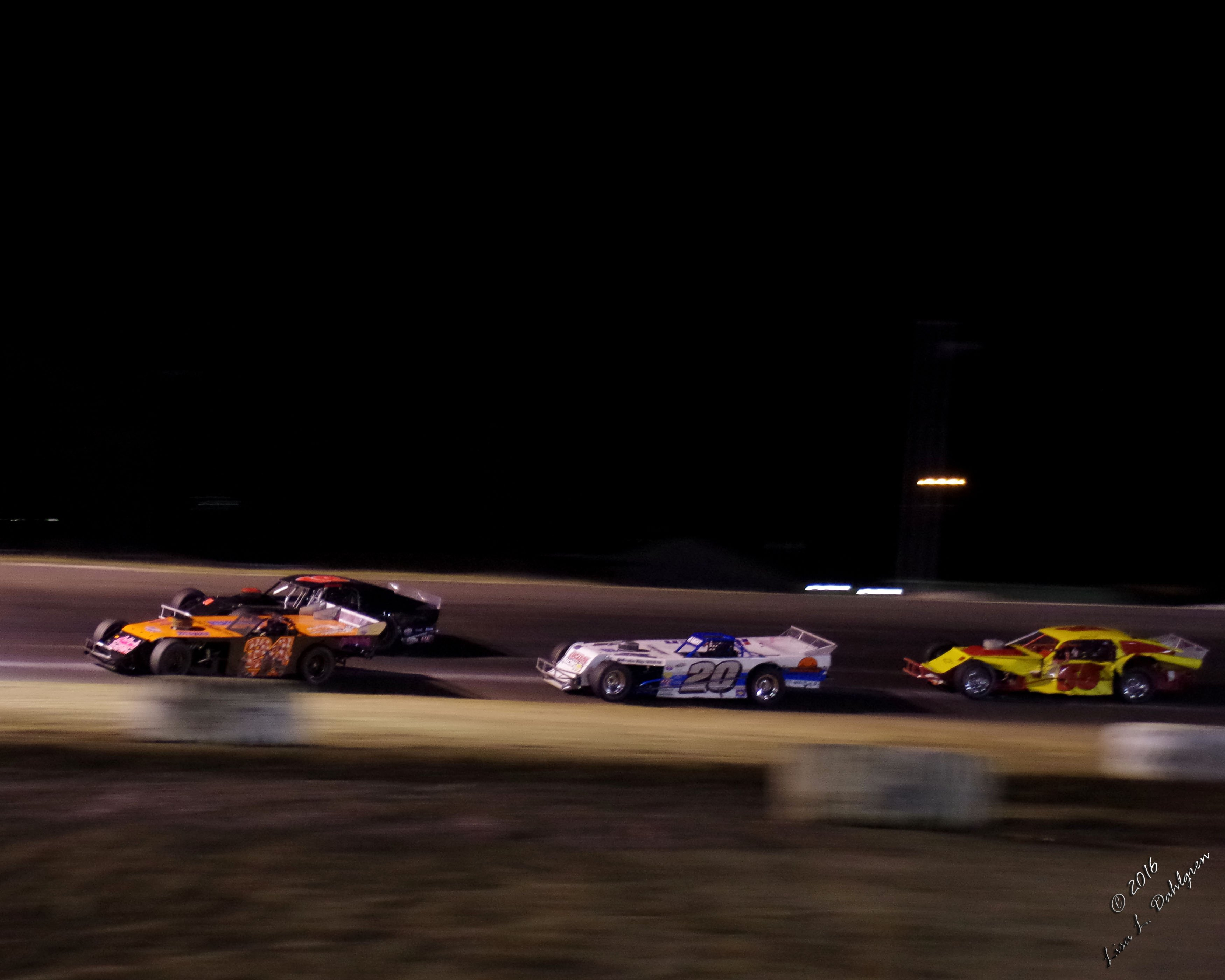 Modifieds Racing to the Checkered Flag