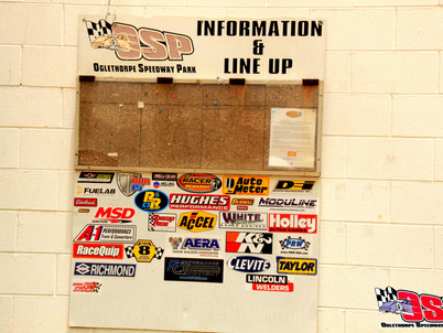 HUGHES PERFORMANCE Banners on Display at Tracks Across the Country!