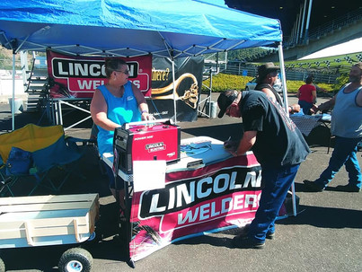 Douglas County Speedway promotes Lincoln Welder Sweepstakes