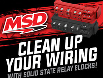 MSD Cleans Up Your Wiring with Solid State Relays