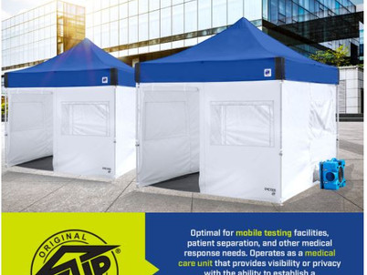 Emergency Medical Cubes available from E-Z Up