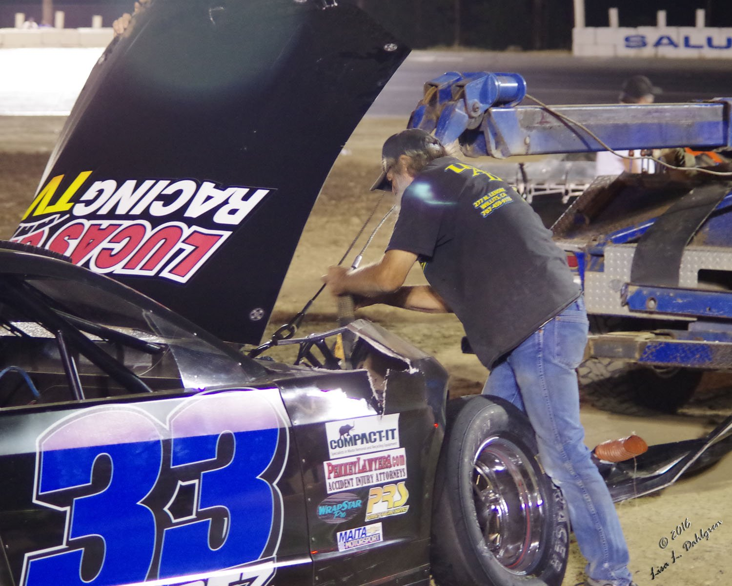T&T Towing Wayne Hunt Hooking Up to 33 PCS Late Model