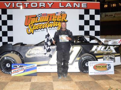 Volunteer Speedway Racer Rewards Winner Wayne Rader