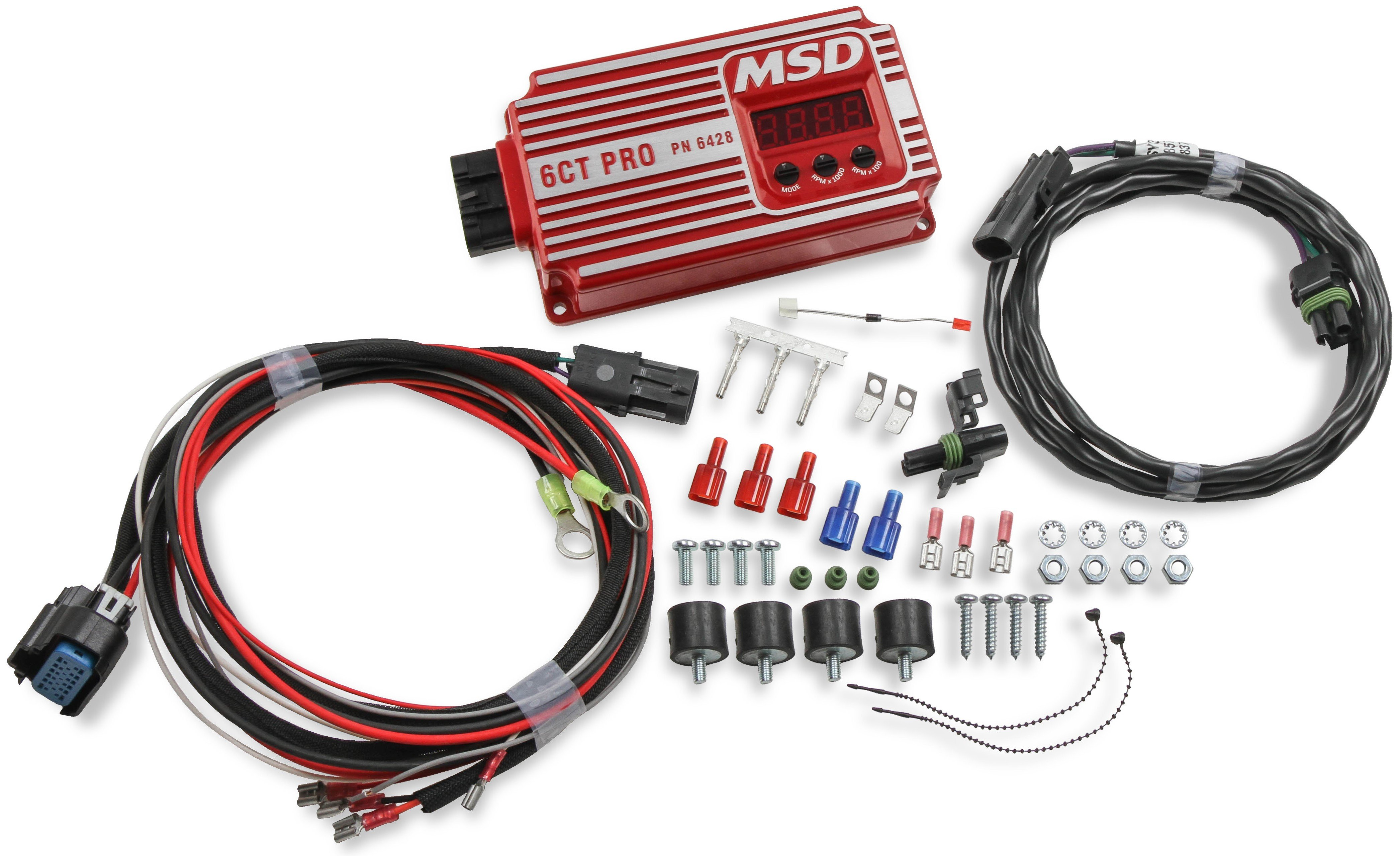 Circle Track Supply >> Msd 6ct Pro Circle Track Ignition Contingencycxn