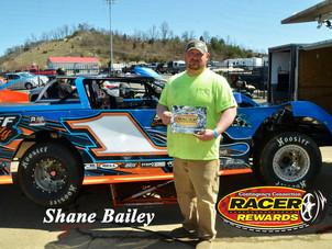 Bristol Motor Speedway Dirt Nationals Racer Rewards Winner Shane Bailey