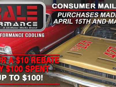 Derale Performance offers rebates for purchases through May 15