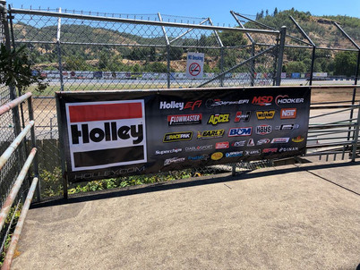 Holley Welcomes Fans to Douglas County Speedway
