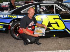 Lonesome Pine Raceway Racer Rewards Winner Terry Smith