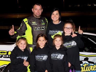 Hudson Wins 200-lap Street Stock Event at Shady Bowl