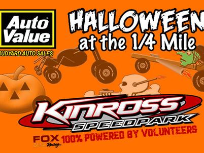"Kinross Speedpark hosts ""Halloween at the 1/4 Mile"""