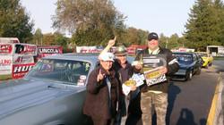 !st Place  BIG PAYOUT WINNER Brad Zygaj from Buffalo NY driving a 68 Chevy Nova 6.80 _ 96 MPH