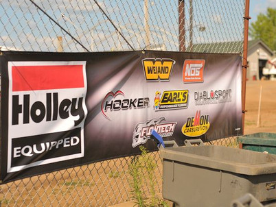 NOS Banners on Display on Tracks Across the Country!
