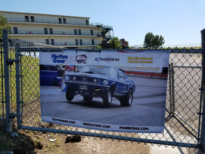 MOTIVE GEAR Banners on Display at Tracks Across the Country!