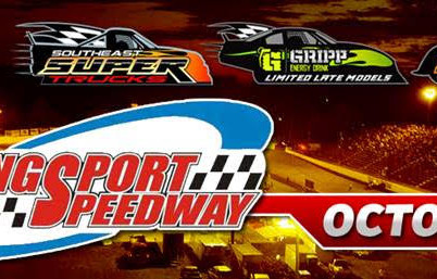 Southeast Super Truck Series, Gripp Energy Limited Late Models, Southeast Legends, Pure Street and P