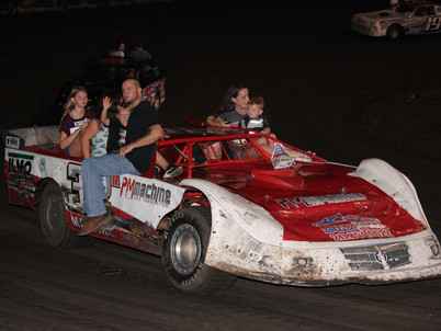 Seven Divisions, Kids Racecar Rides, & Faster Pastor On Tap Macon Speedway Saturday