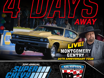 The Super Chevy Show is 4 DAYS AWAY!