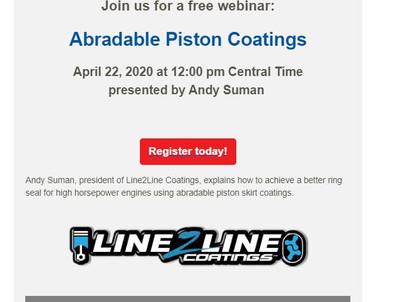 AERA Webinar: Abradable Piston Coatings