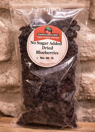 Dried Blueberries No Sugar Added