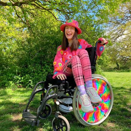 Celebrating Disability Pride: Meet Rebecca, Instagram Star,  Fashionista & Disability Advocate
