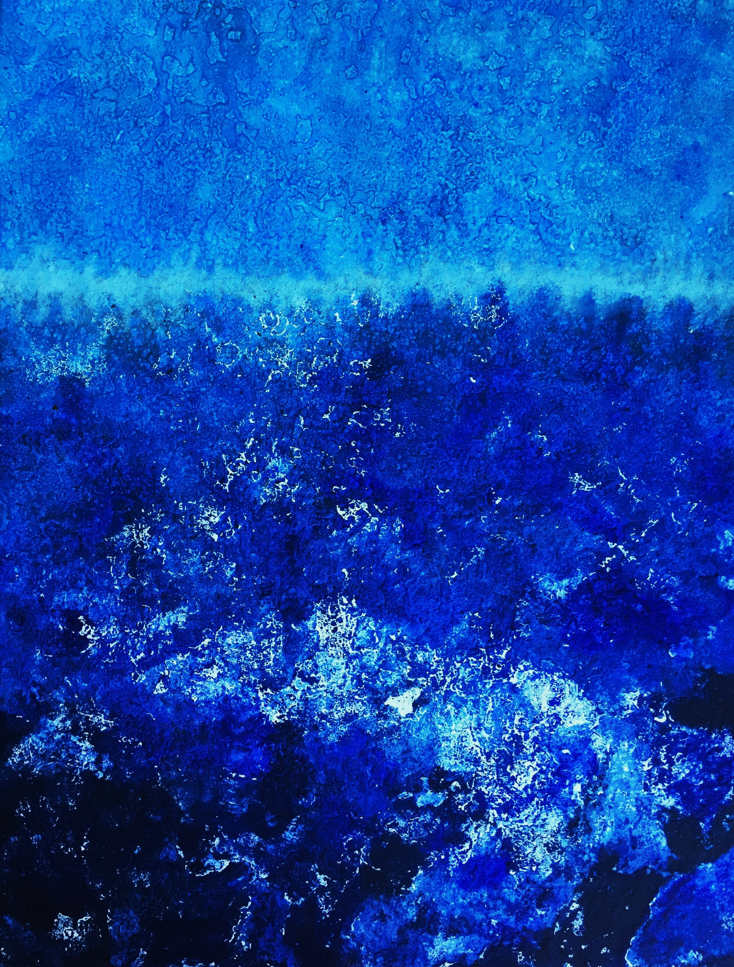 Immersion 76 x 56 cm Salt water etching