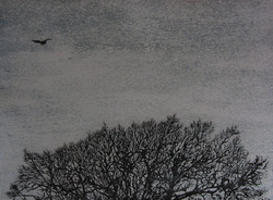 Coming Home 56 x 76cm Air etching and aquatint