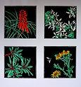 Diane Masters 4 Spring Quartet 68 x 68 o