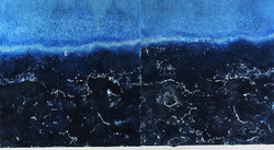 Tidelines 62 x 112 cm Saltwater Etching