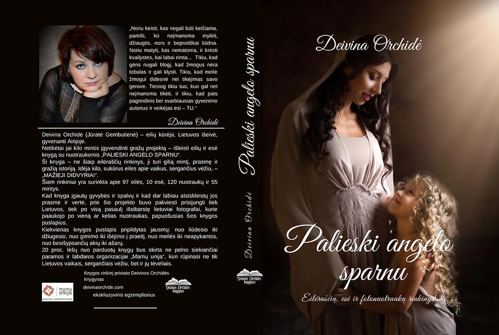 Knyga palieski angelo sparnu moteris