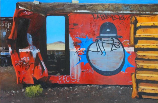 Bolivia Series: Train Skeleton #3