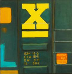Yellow X