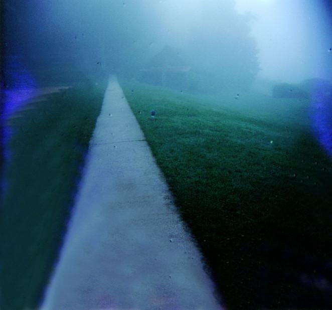 Mist Walk in North Carolina