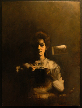 Mamie's Self-Portrait