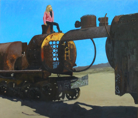 Bolivia Series: Train Skeleton #1