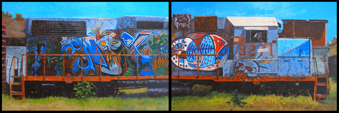 Grafitti 1 & 2