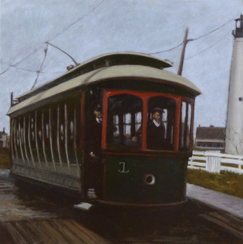 Vintage Train Series: Lighthouse Trolley, Cape May