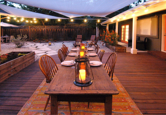 Outdoor Dining Patio