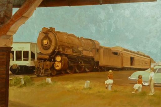 Vintage Train Series:  Ocean City, 1950s