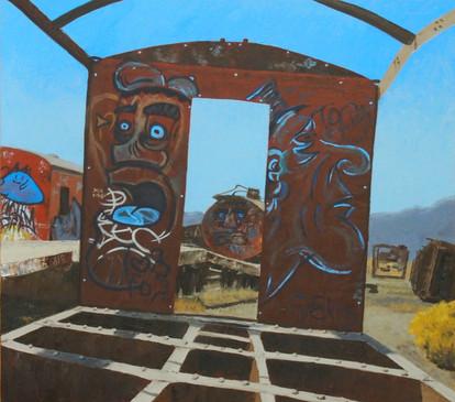 Bolivia Series: Train Skeleton #5