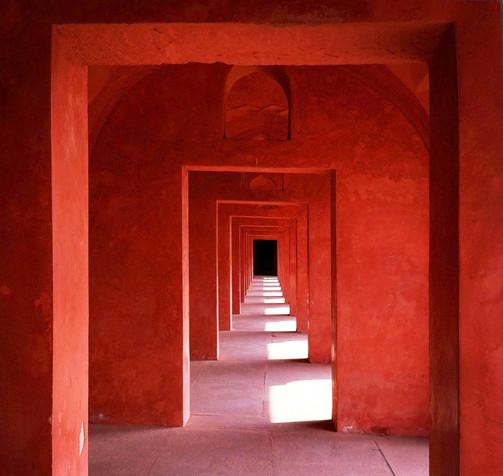 Red doorways