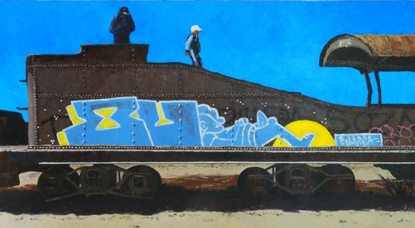 Bolivia Series: Train Skeleton #2