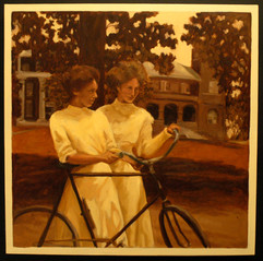 Two Sisters & A Bicycle