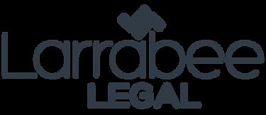 Larrabeee logo blue transparent.png